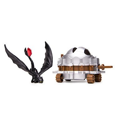 DreamWorks Dragons, How to Train Your Dragon 2 Battle Pack - Toothless vs Dragon Catcher - 1