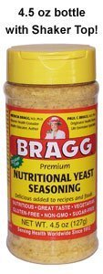 Bragg Nutritional Yeast Seasoning - 4.5 oz - Flake