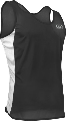 TR980 Men's Pro Athletic Lightweight Single Ply Track Singlet with Side Panels