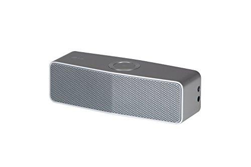 LG NP7550 Speaker Portatile, 20 W, Bluetooth, Argento