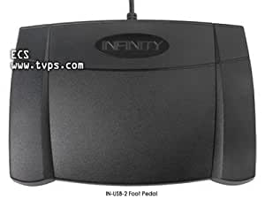 Infinity IN-USB-2 Foot Pedal for Transcription