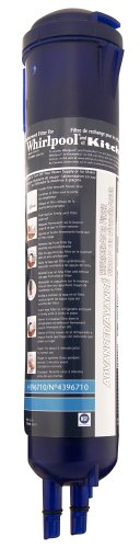 Whirlpool 4396710 KitchenAid PUR Push Button Cyst-Reducing, Side-by-Side Refrigerator Water Filter, 1-Pack