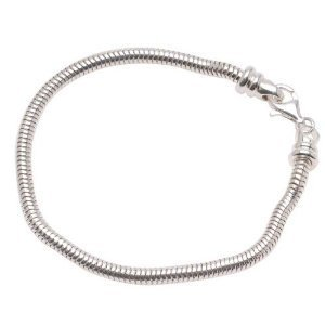 Sterling Silver Charm Bracelet For Pandora or
