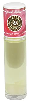 Terra Essential Scents  Aromatherapy Roll-On Pink Lotus  0.3 oz.