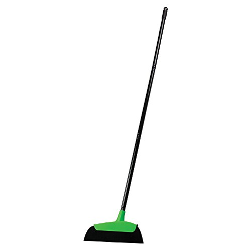 Casabella Neon Hair Magnet Broom, Black/Green (Magnetic Broom compare prices)
