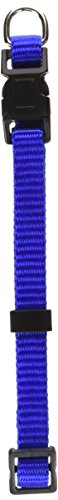 Artikelbild: Aspen Adjustable Pet Dog Collar Quick Snap Buckle Strong Nylon Blue 3/8' x 8-14'