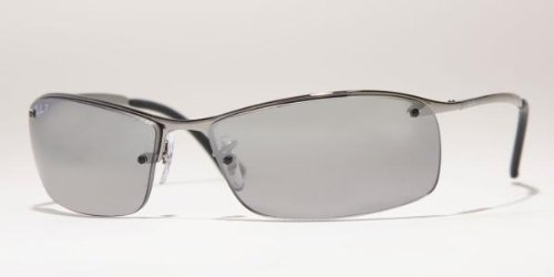 Ray-Ban RB3183 Sunglasses GunmetalPolarized Grey Silver
