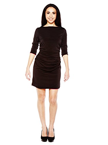 Womens Reversible Little Black Dress - 4 Ways to Wear - Extra Large