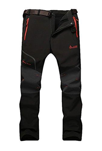 waterproof mountain pants fleece windproof