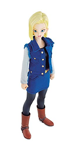 Dimension of DRAGONBALL Android 18 (with initial award) about 185mm PVC & Polyester & ABS-painted action figure