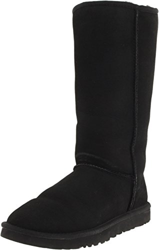 Ugg Women's Classic Tall Boot, Black, 8 M US