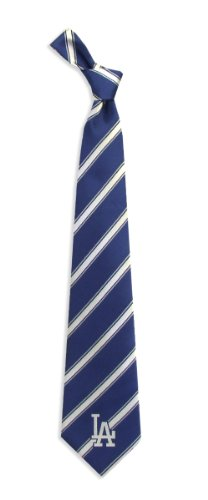Los Angeles Dodgers Woven Polyester Necktie at Amazon.com