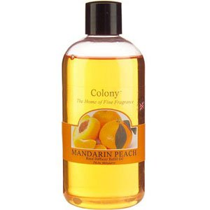 Colony Reed Diffuser Refill Oil - Mandarin Peach By Scented Candle Shop