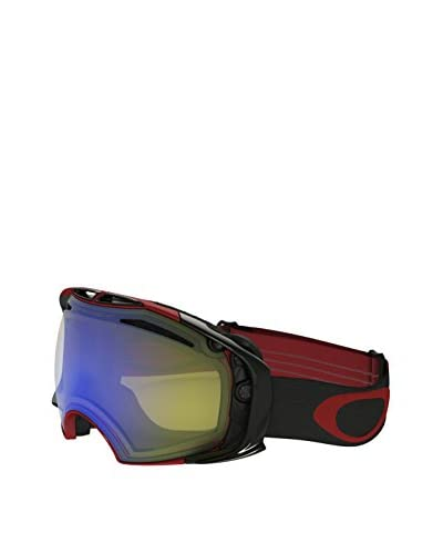 Oakley Máscara de Esquí AIRBRAKE Negro / Rojo