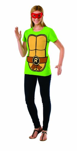 Rubie's Costume Teenage Mutant Ninja Turtles Top With Mask and Raphael