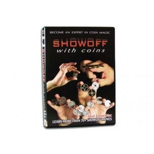 showoff-with-coins-dvd-with-ben-salinas-learn-over-70-magic-tricks-moves-with-coins-by-magic-makers-