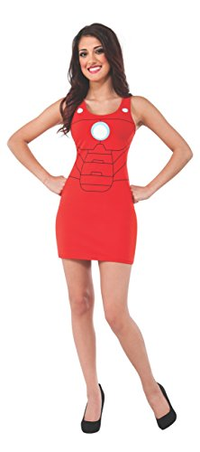 Rubie's Costume Women's Marvel Universe Adult Iron Man Tank Dress
