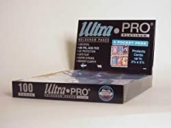 UltraPro 6 Pocket (Tallcards) Pages (100ct)