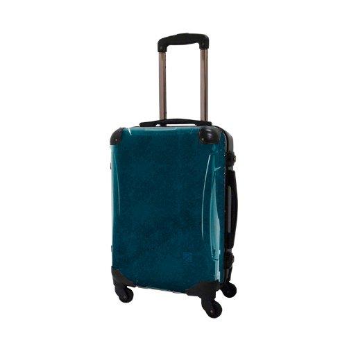 キャラート アートスーツケース ポップニズム エルプラス (ネイビー) フレーム4輪 機内持込