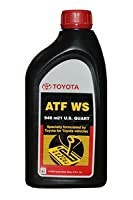 Genuine Toyota Lexus Automatic Transmission Fluid 1QT WS ATF World Standard (4 Pack) by TOYOTA