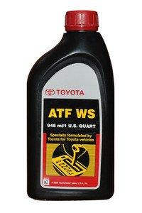 Genuine Toyota Lexus Automatic Transmission Fluid 1QT WS ATF World Standard (4 Pack) by TOYOTA