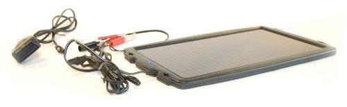 AA Car Essentials Kfz-Batterieladegerät, solarbetrieben