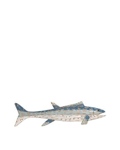 Wood Fish Wall Décor