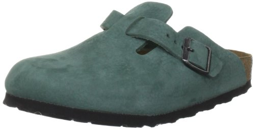 Birkenstock Unisex Boston Narrow Silver Pine Casual 059 763 36 EU