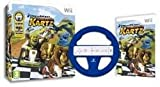 DreamWorks Super Star Kartz + Wheel Bundle for Wii