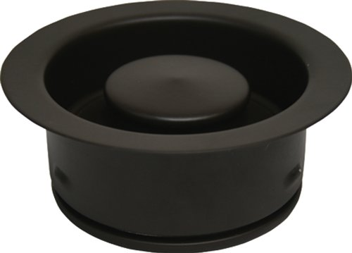 Waste King 3156 3-Bolt Mount Sink Flange and Stopper, Oil Rubbed Bronze