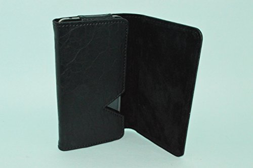 TOTTA PU Leather Wallet Pouch For Huawei P8 Lite -BLACK