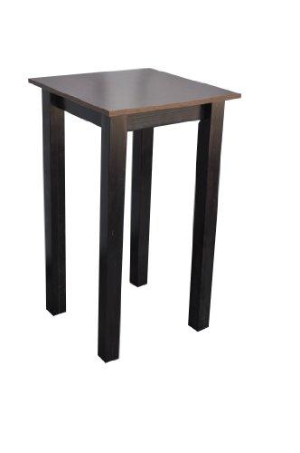 Tisch-Bartisch-Hochtisch-Stehtisch-Holz-Buche-Wenge-80x80x110-cm-LxBxH-Kolonial