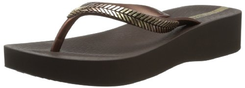 Ipanema Women's Laurel Flip Flop,Brown/Bronze,8 M US