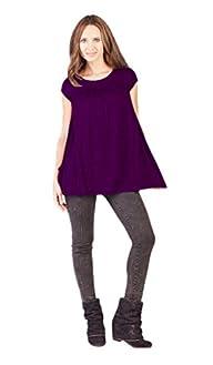 Savi Mom Nursing T-Shirt Small Purple