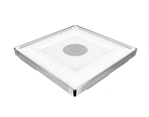 Lvyi badlampe quadratisch deckenleuchten aluminium led for Deckenlampe lang