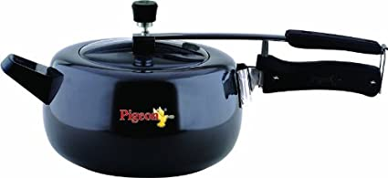 Pigeon 79 Marvella Hard Anodized 3.5 L Pressure Cooker (Inner Lid)