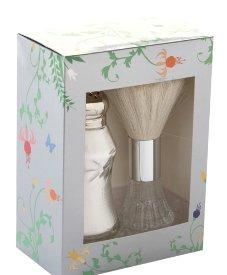 Tryst Dusting Silk & Brush Set in Royal Garden Box