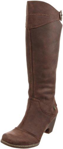 El Naturalista Women's N863 Chocolate Knee High Boots N863 5 UK
