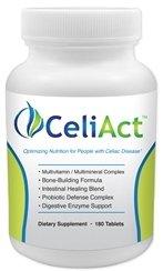 Celiact - Gluten Free Dietary Supplement -180 Tablets
