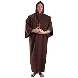 Monk Adult Plus Costume