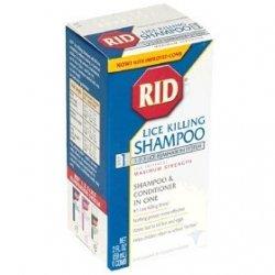 RID Lice Killing Shampoo, Maximum Strength, Step 1, 2-Fluid Ounce ...