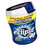Eclipse Winterfrost Sugarfree Chewing Gum Big E Pack (Pack of 4)