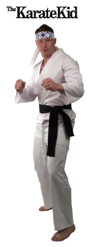 Adult the Karate Kids Deluxe Daniel San Costume