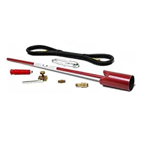 Red Dragon VT 3-30 SVC 500,000 BTU Heavy Duty Propane Vapor Torch Kit With Squeeze Valve