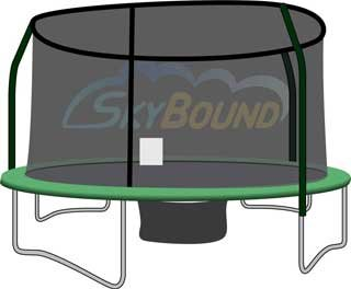 Trampoline-Replacement-Net-for-4-Pole-Enclosure-14-Diameter-Now-Heavy-Duty-for-2014