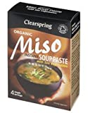 Clearspring Instant Miso Soup Paste + Veg 4 x 15g - CLS-CS492