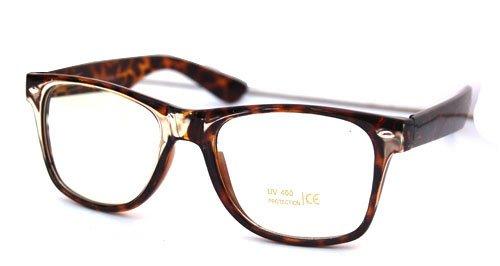 Leopard Buddy Wayfarer Glasses
