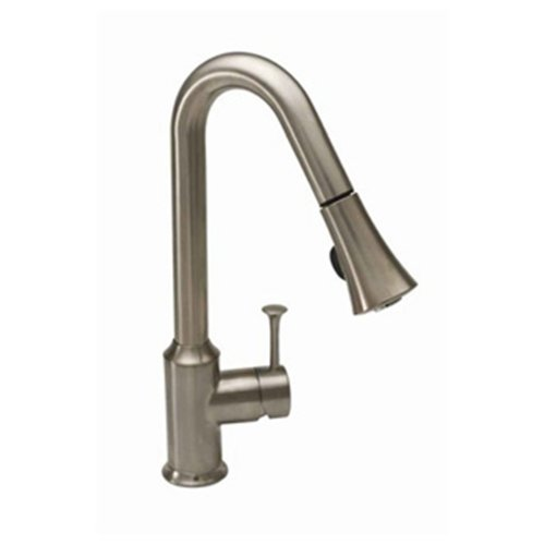 Cyber Monday Deals American Standard 4332.300.075 Pekoe Pull Down Kitchen Faucet, Stainless Steel