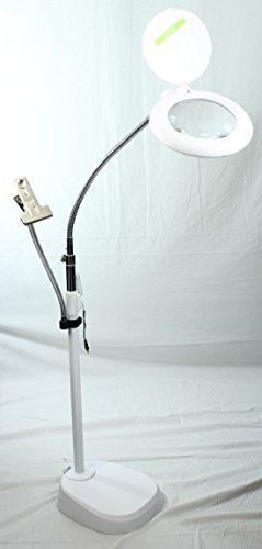 the-jensen-daylight-48-led-height-adjustable-magnifying-reading-lamp