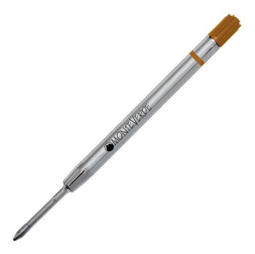 Monteverde recharges Capless Ceramic Gel pour stylo Parker fin BP-P423OR (Orange)